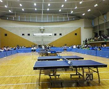 高校新人卓球大会2<br />  日目です。