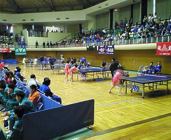 県中学新人卓球大会