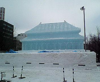 札幌にきています