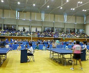 会長杯県中学生卓球大会