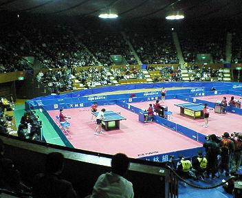 シャバントップ12<br />  卓球大会