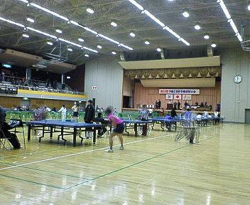 第34回中島杯争奪卓球大会